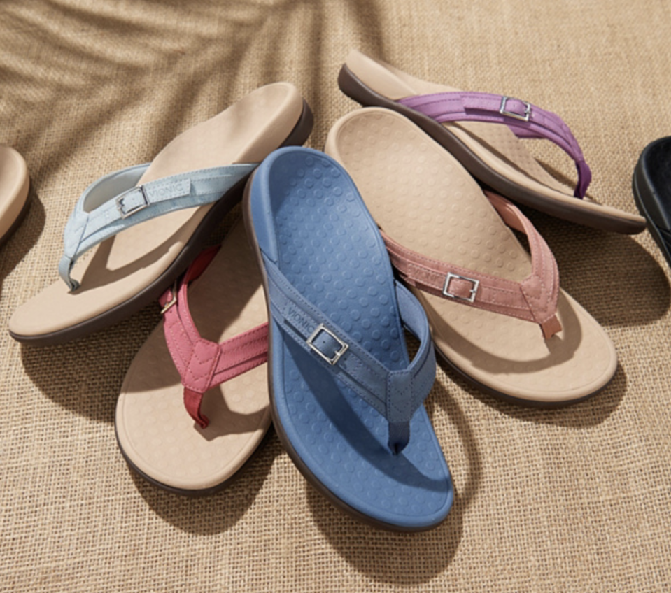 A muted rainbow of wear-with-anything options. (Photo: QVC)