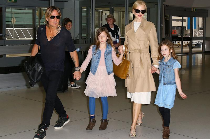 Nicole Kidman Has a Glamorous Approach to Airport Style