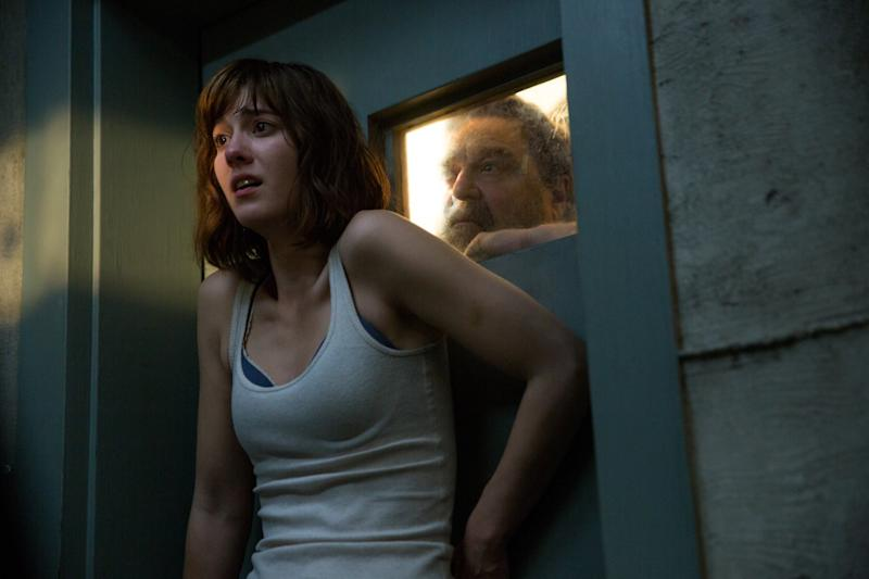 Mary Elizabeth Winstead and John Goodman in 2016's '10 Cloverfield Lane' (credit: Paramount)