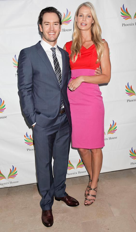 LOS ANGELES, CA - JUNE 06:  (L-R) Mark Paul Gosselaar and Catriona McGinn attend the 9th Annual Triumph for Teens at Hotel Bel-Air on June 6, 2012 in Los Angeles, California.  (Photo by Tibrina Hobson/WireImage)
