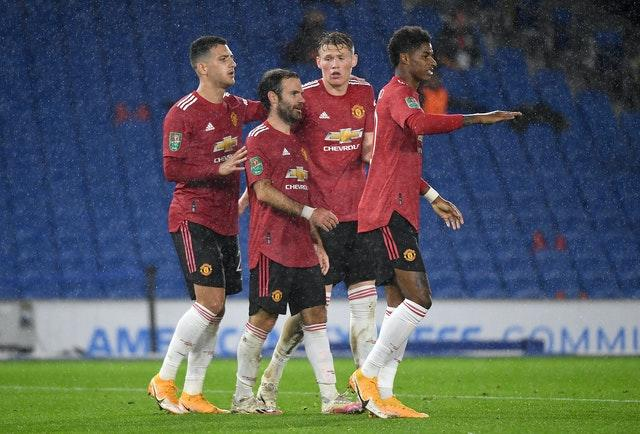 Juan Mata was at the heart of United's victory