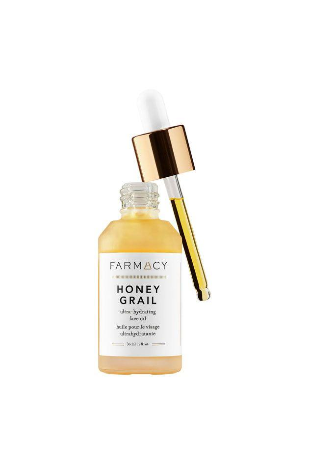 "<p>Farmacy's new face oil soothes and plumps the skin while also busting fine lines and crows feet. Its secret ingredient is Sea Buckthorn Oil, which is jam-packed with antioxidants and vitamins that help combat oxidation and the development of free radicals. Mix it with foundation or another moisturizer for a dewy effect. <br></p><p><em>Farmacy Honey Grail Ultra-Hydrating Face Oil, </em>$64</p><p><a class=""body-btn-link"" href=""https://go.redirectingat.com?id=74968X1596630&url=https%3A%2F%2Fwww.sephora.com%2Fca%2Fen%2Fproduct%2Fhoney-grail-ultra-hydrating-face-oil-P444226%3Ficid2%3Djustarrivedskincare_can_skugrid_ufe%253Ap444226%253Aproduct&sref=http%3A%2F%2Fwww.crfashionbook.com%2Fbeauty%2Fg28250107%2Fbest-hydrating-summer-skincare-products%2F"" target=""_blank"">SHOP</a></p>"