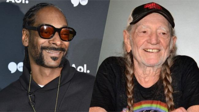 Snoop Dogg Gifted Willie Nelson With A Very Marijuana Friendly