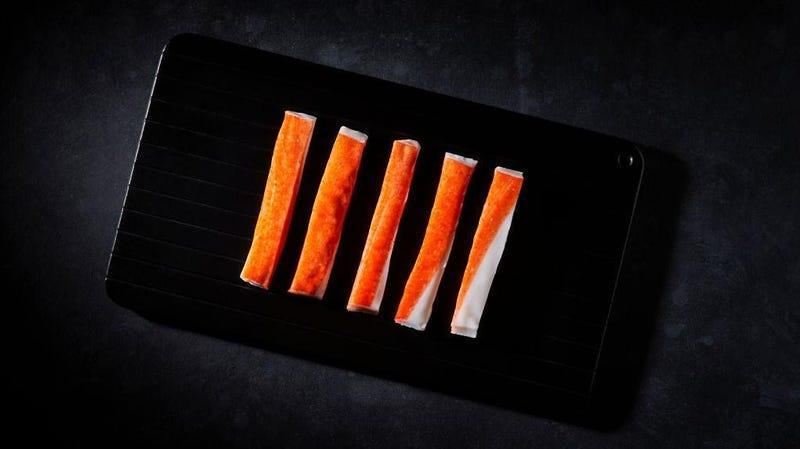 Crab Sticks photographed for American Food Project