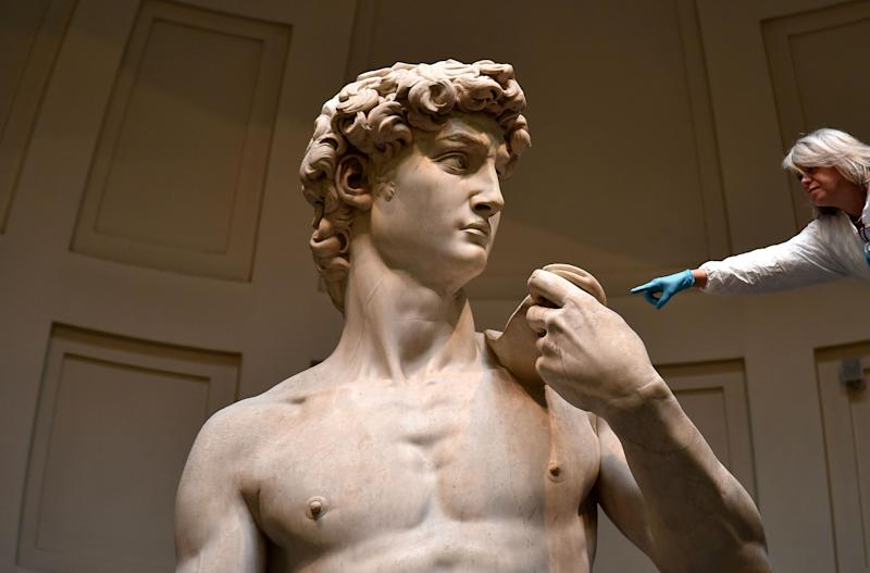 How an Indiana doctor found a medical mystery in Michelangelo's 'David'