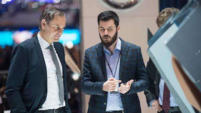 Rimac focuses on high-voltage battery technology, electric powertrains, and human-machine interfaces.