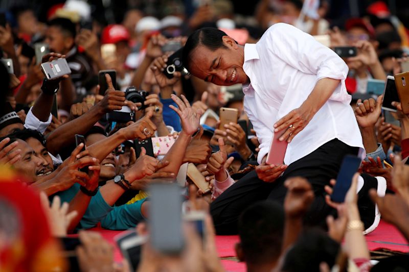 Indonesian President Joko Widodo Wins Election Amid Claims of Widespread Cheating