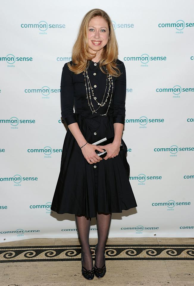 NEW YORK, NY - APRIL 28:  Chelsea Clinton attends the 7th Annual Common Sense Media Awards honoring Bill Clinton at Gotham Hall on April 28, 2011 in New York City.  (Photo by Jason Kempin/Getty Images for Common Sense Media)