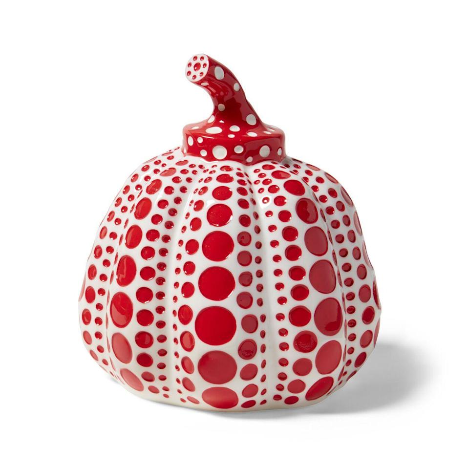"<p><strong>Best Seller</strong></p><p>moma.org</p><p><strong>$280.00</strong></p><p><a href=""https://store.moma.org/prints-artists/featured/yayoi-kusama/kusama-pumpkins/125107-125109.html"" rel=""nofollow noopener"" target=""_blank"" data-ylk=""slk:Shop Now"" class=""link rapid-noclick-resp"">Shop Now</a></p><p>Enamored with Kusama's ""Dancing Pumpkin"" sculpture at NYBG? Bring home a (mini) one of your own. </p>"