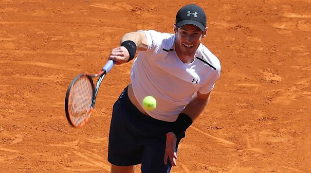 MONACO (AP) Top-seeded Andy Murray threw away a 4-0 lead in the deciding set of his third-round match on Thursday as 15th-seeded Albert Ramos-Vinolas won 2-6, 6-2, 7-5 at the Monte Carlo Masters.