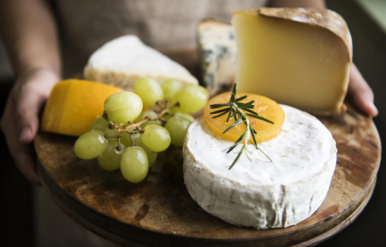 None of these delicious offerings could beat the lure of sliced cheese. (Getty Images)