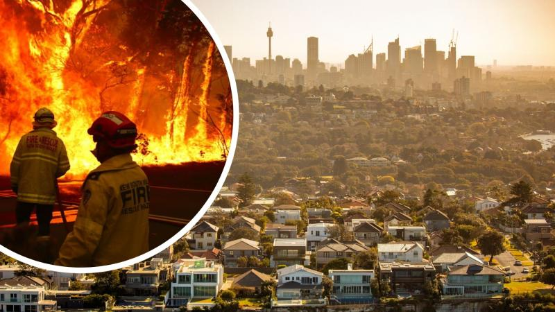 Australia's bushfires indicate oncoming catastrophe. Images: Getty