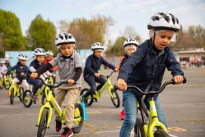 All Kids Bike Kindergarten PE Program