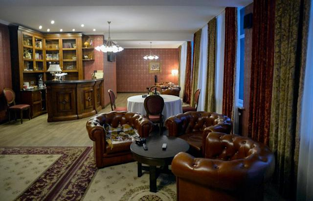 <p>Plush: There are also plenty of creature comforts for Southgate's men. (GETTY) </p>