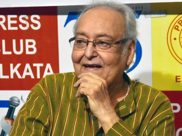 Legendary Bengali actor Soumitra Chatterjee