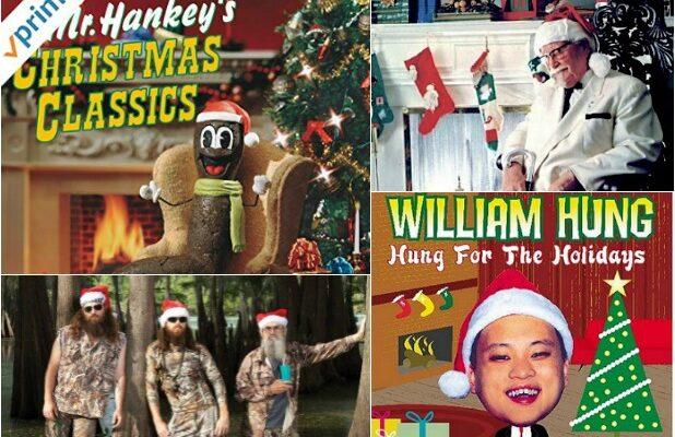 20 Unlikely Celebrity Christmas Albums That Make You Go 'Huh?' (Photos)