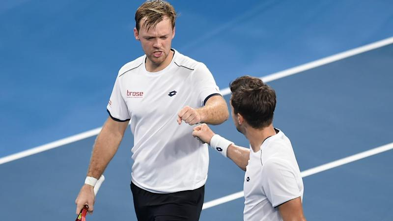 Kevin Krawietz and Andreas Mies win has kept Germany's ATP Cup quarter-finals hopes alive