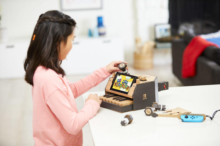 Nintendo is on such a roll, it's managed to make cardboard amazing.