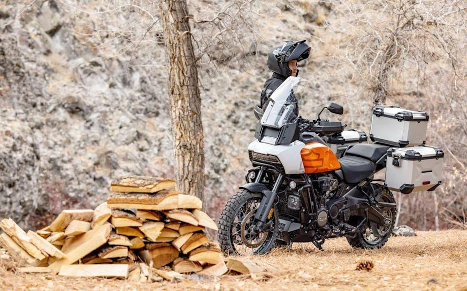 The Pan America is a remarkable first adventure bike from the kings of chrome
