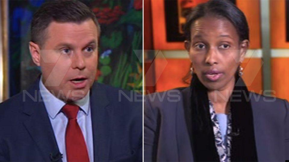 In an exclusive interview with 7 News Hirsi Ali has spoken about improving the rights of Muslim women. Photo: 7 News.