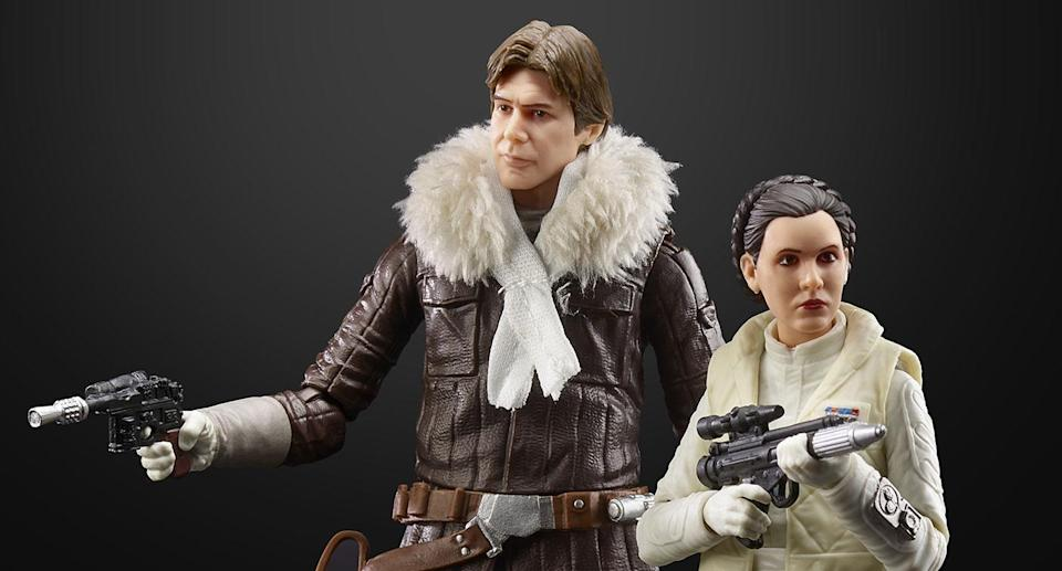 These new, 6-inch scale figures from THE BLACK SERIES include exquisite features and decoration and embody the quality and realism that STAR WARS devotees love. (Hasbro)