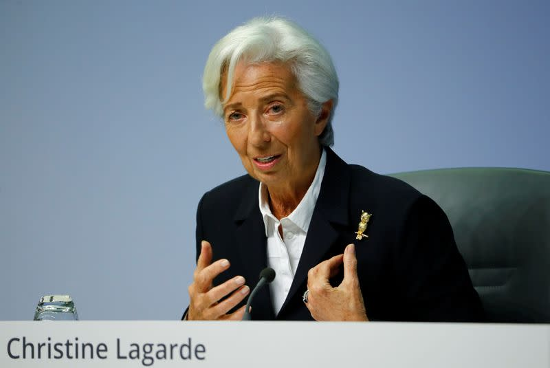 ECB's Lagarde extends mandate of top Draghi aide
