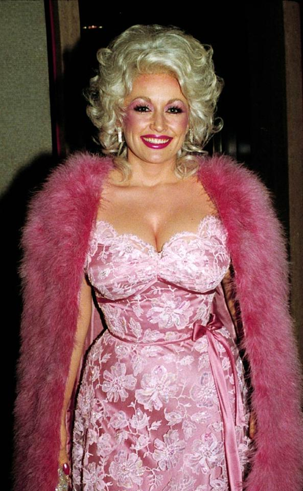 "<b>1980:</b> Parton related to her misunderstood sexpot secretary character in ""Nine to Five."" ""I'm not selling sex,"" she said of her unabashedly va-va-va-voom style. ""The magic of the whole thing, is that I am one way and look another.""   <a href=""http://www.instyle.com/instyle/package/transformations/photos/0,,20290121_1072291_887015,00.html?xid=omg-holmes-trans?yahoo=yes"" target=""new"">Check Out Katie Holmes' Style Evolution</a> Walter McBride/Retna Lt. - 1980"