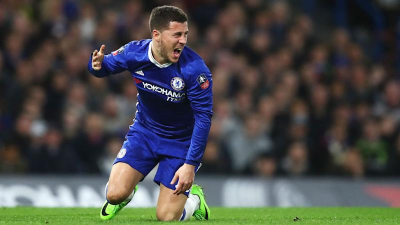 Hazard left out of Chelsea's trip to Stoke