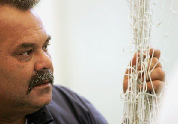Dav Whatmore at Lord's