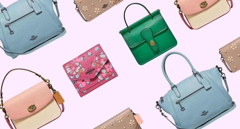 Coach's 50% off sale is still going strong.