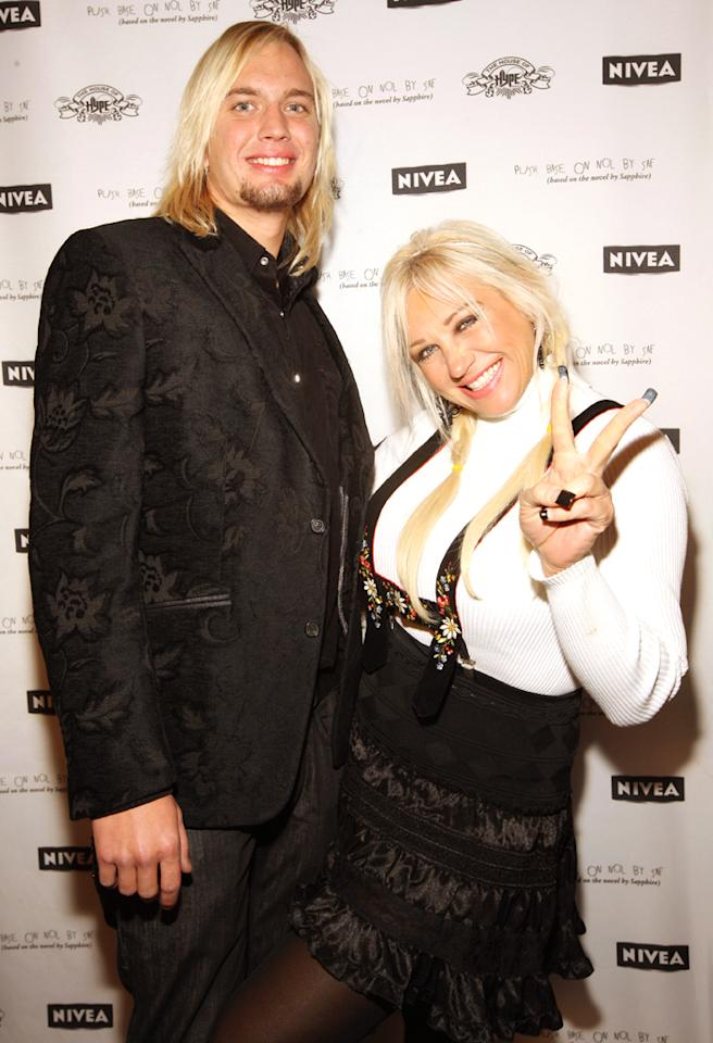 "PARK CITY, UT - JANUARY 16:  Linda Hogan and Charlie Hill attend the Official ""Push"" Afterparty at Island Def Jam's Ultra Lounge at The House of Hype on January 16, 2009 in Park City, Utah.  (Photo by Barry Brecheisen/WireImage)"