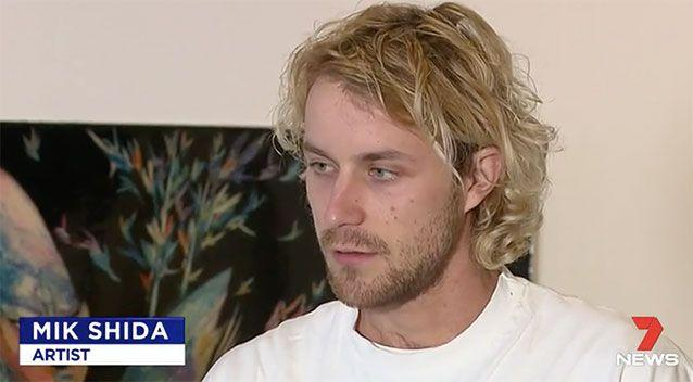 Shida said he feared for his life as he was dragged along the road. Source: 7 News