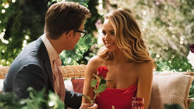 Matt and Abbie's chemistry on The Bachelor is obvious to viewers. Photo: Network 10