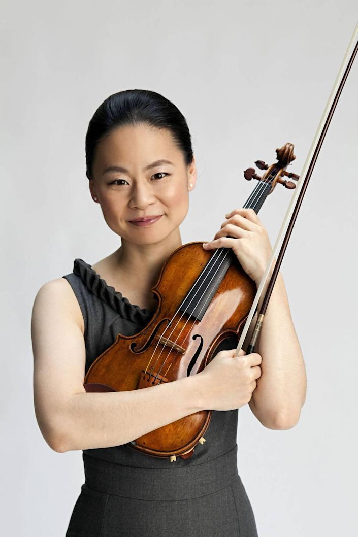 Acclaimed violinist Midori performs at the Kravis Center on April 10.