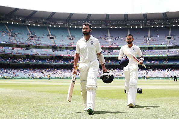Pujara and Kohli - India's most successful batting pair in 2018
