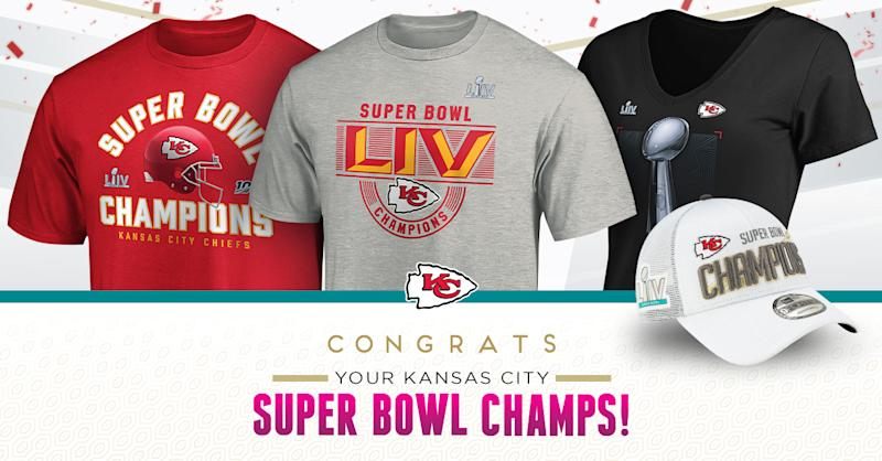 Kansas City Chiefs Super Bowl gear