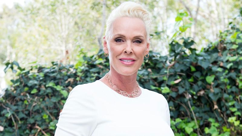 Brigitte Nielsen, 54, shows off bump after revealing pregnancy news