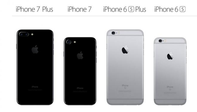 size of the iphone 6 apple iphone 7 v iphone 6s series what s changed 7876