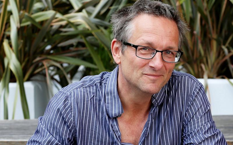 Dr Michael Mosley suggested dieters could get just as good results if their fast days allowed them 800 calories  - Clara Molden