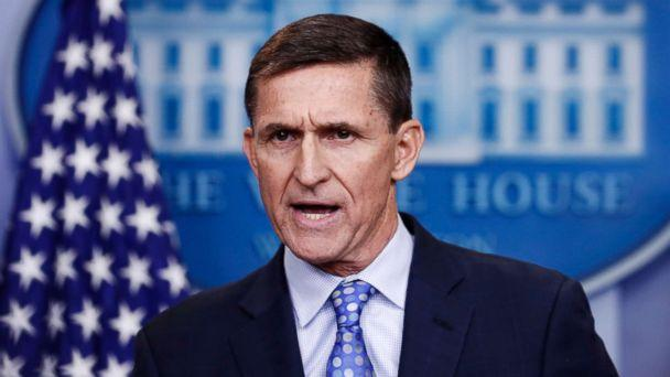 PHOTO: Former National Security Adviser Michael Flynn during the daily news briefing at the White House, Feb. 1, 2017, in Washington, D.C. (Carolyn Kaster/AP photo, FILE)