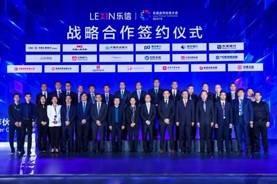 Lexin announced partnerships with 19 financial institutions.