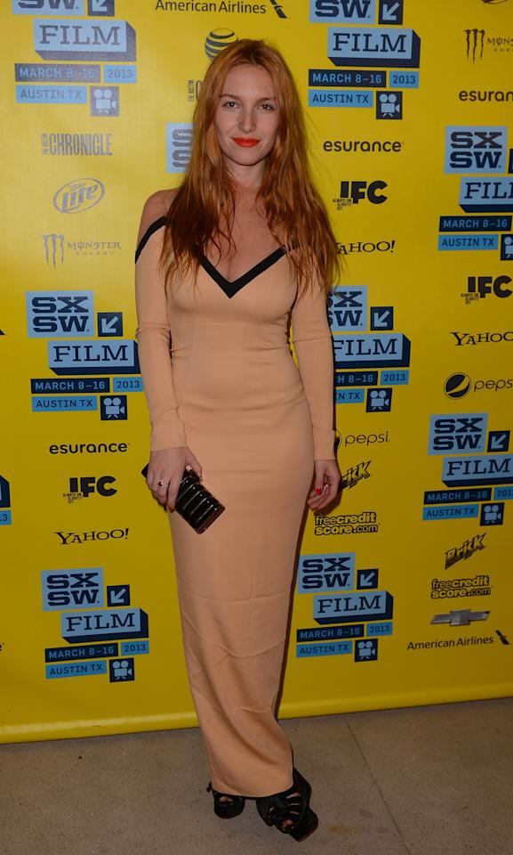 AUSTIN, TX - MARCH 12:  Actress Josephine De La Baume attends the 'Kiss of the Damned' red carpet arrivals at the  2013 SXSW Music, Film + Interactive Festival held at the Topfer Theatre at ZACH on March 12, 2013 in Austin, Texas.  (Photo by Mark Davis/Getty Images for SXSW)