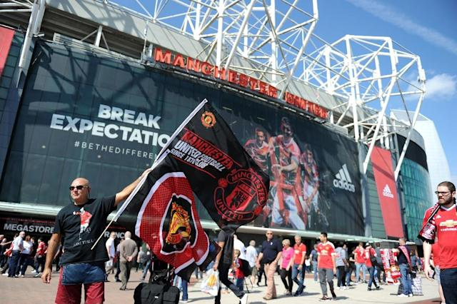 Manchester United fans will be the latest to protest against spiralling costs to watch live football when they travel to FC Midtjylland in the Europa League (AFP Photo/Oli Scarff)