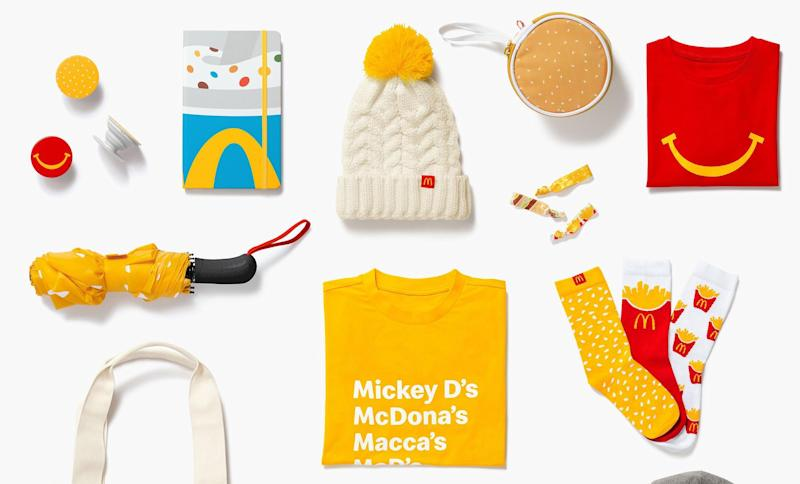 McDonald's launched its first-ever merch store, and everything is so cute
