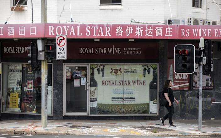 Australian wine exporters are watching stockpiles of product mount in warehouses as China, its biggest market, clamps down on shipments from the country - Bloomberg
