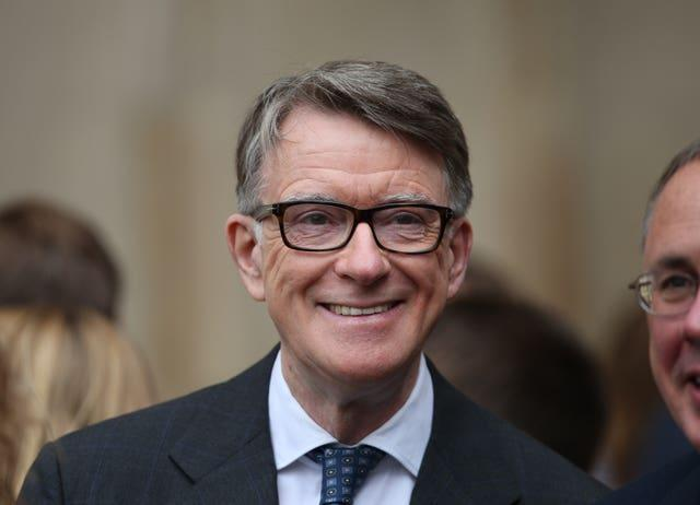 Lord Mandelson was a former Hartlepool MP