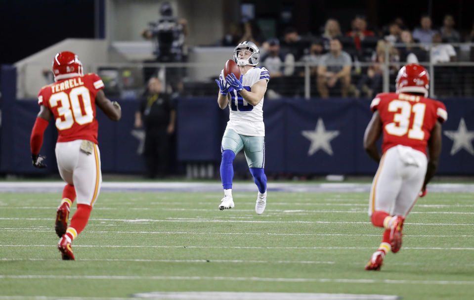 NFL kickoffs are evolving because of the league's renewed focus on players' safety. (AP)