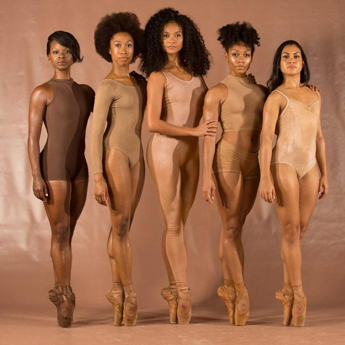 These 5 beautiful black ballerinas are taking the ballet world by storm. (Photo: Andrew J. Breig)