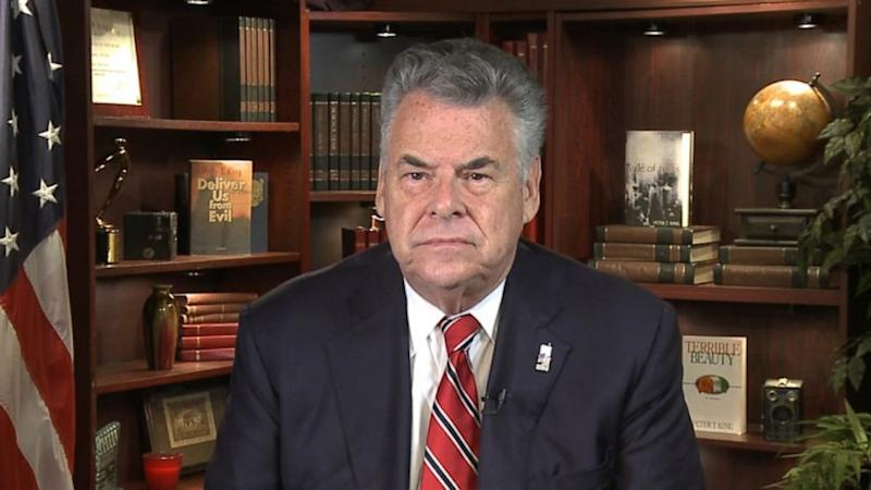 NY Rep. Peter King Jokes He'll 'Take Cyanide' If Ted Cruz Wins GOP Nomination