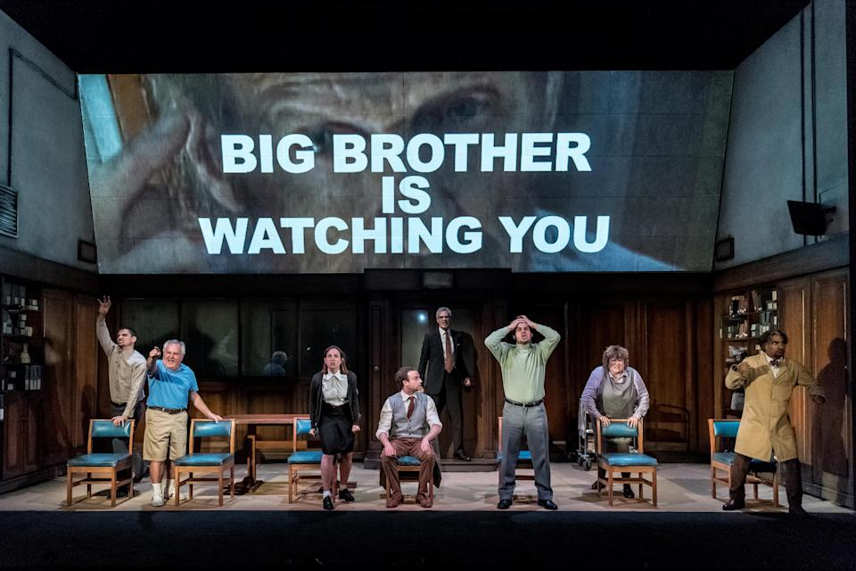 """One of the headlining acts at SIFA 2018 is a stage adaptation of George Orwell's """"1984"""". (Photo: SIFA 2018)"""
